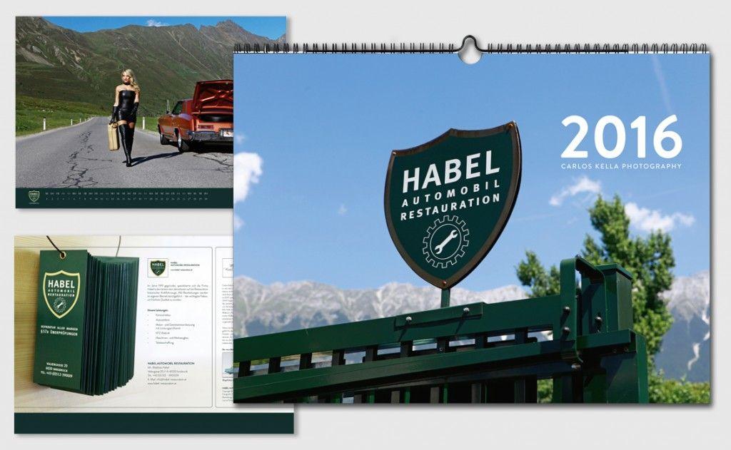 Habel Automobil Restauration 2016 Kalender