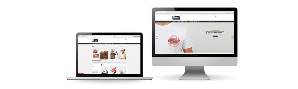 Webshop für das Street Magazine: Umsetzung durch Kähler & Kähler
