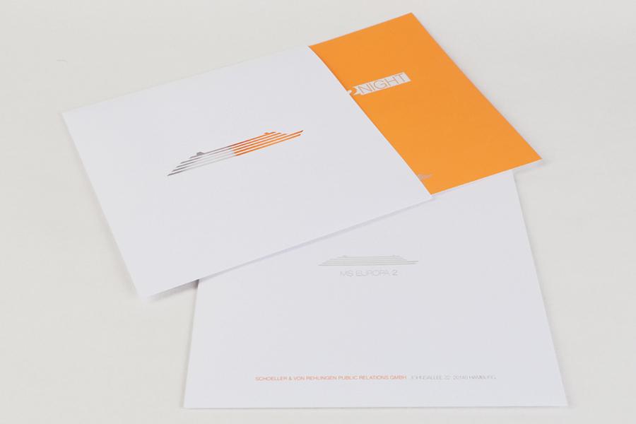 Produktions-Abwicklung für die Fashion2Night auf der MS Europa 2 durch Kähler & Kähler