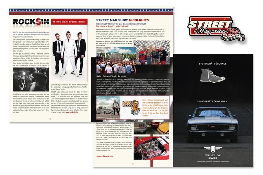 Programmheft Street Mag Show