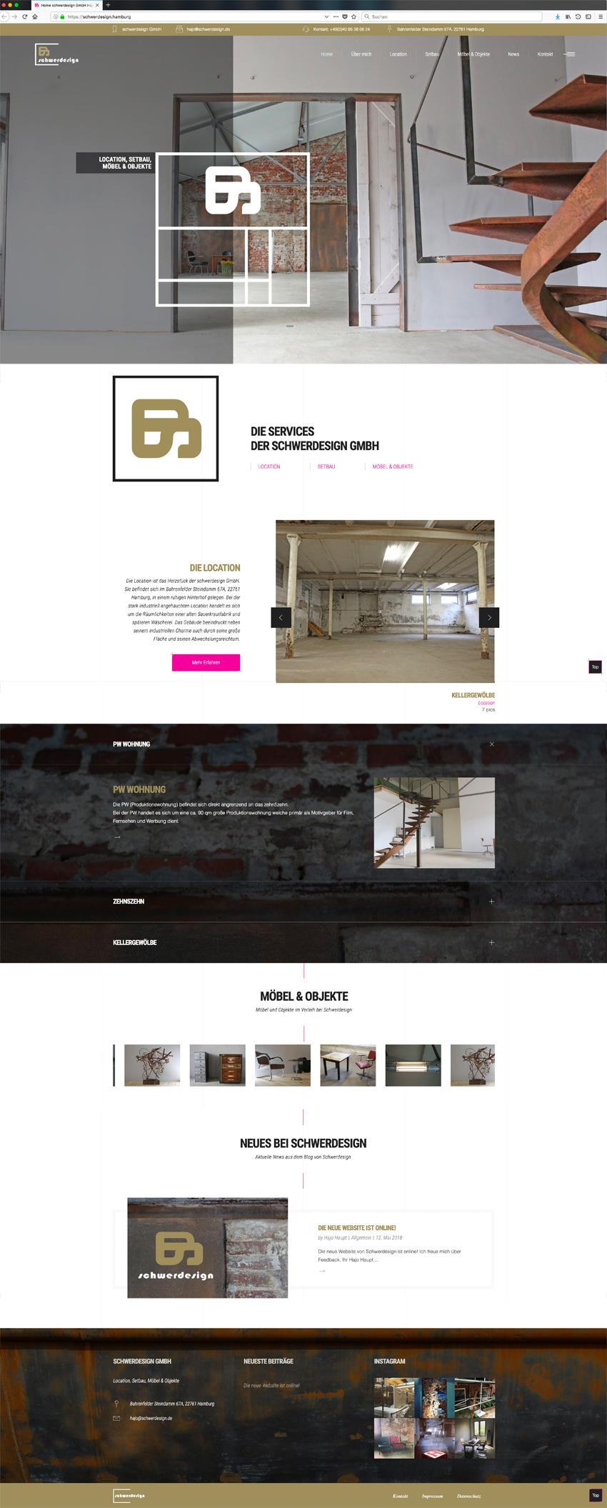 Homepage www.schwerdesign.de