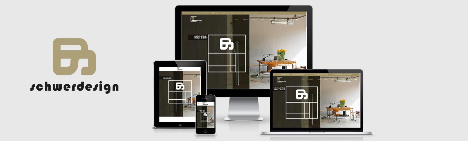 Homepage schwerdesign GmbH