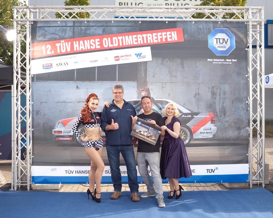 Event-Organisation für das 12. TÜV HANSE Oldtimertreffen der TÜV HANSE GmbH, erstellt durch Kähler & Kähler. Foto: Amiage Uli Winger