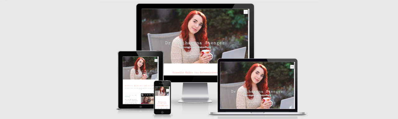 Homepage-Erstellung für Dr. Katharina Stenger