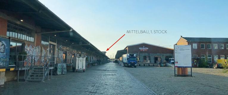Anfahrt zu Kähler & Kähler im Hamburger Oberhafen