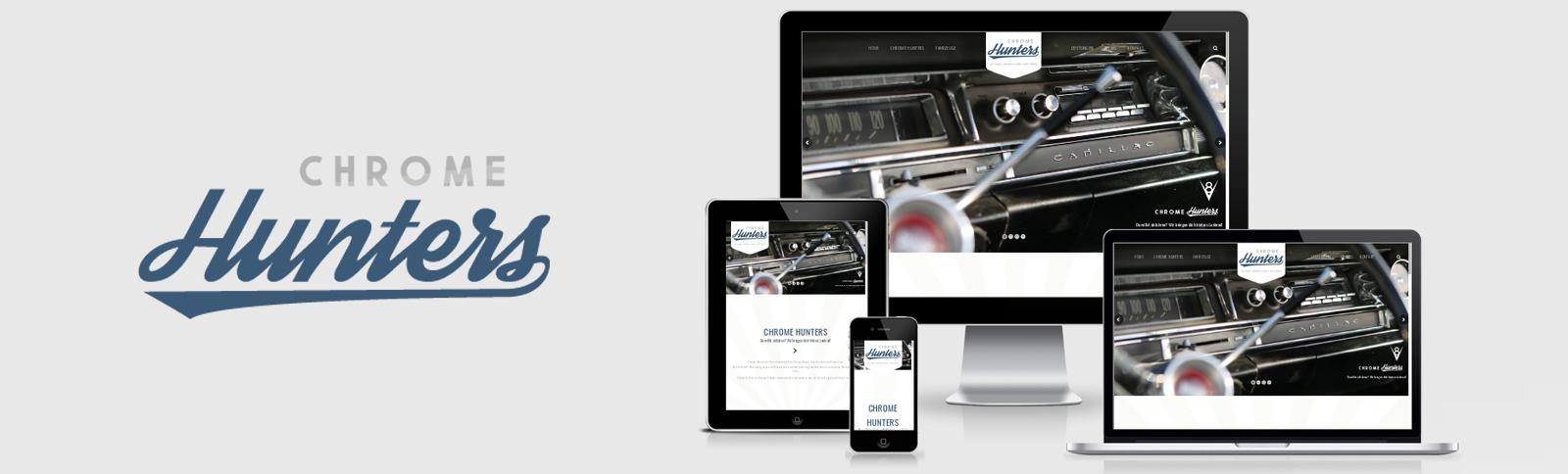 Fotoshooting und Erstellung der Website für die Chrome Hunters GmbH durch Kähler & Kähler
