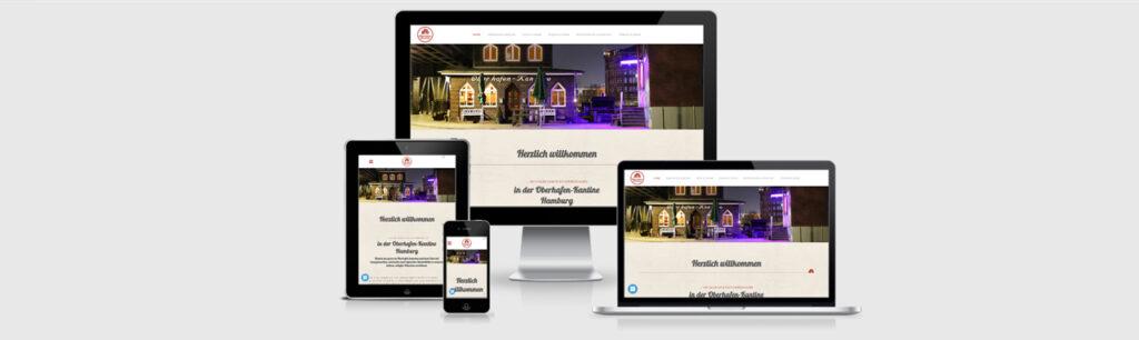 Relaunch der Website der Oberhafen-Kantine Hamburg durch Kähler & Kähler