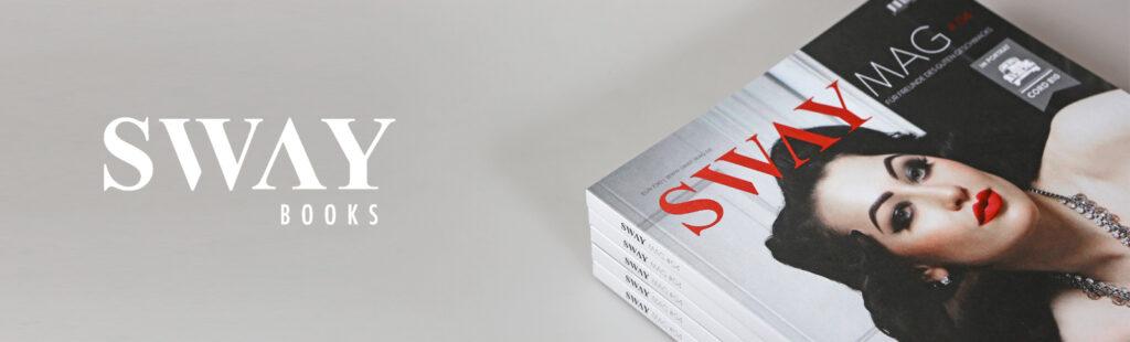 Magazindesign und Produktionsabwicklung SWAY MAG #04 durch Kähler & Kähler. SWAY MAG #04 – Die vierte Ausgabe des Magazins aus dem SWAY Books Verlag ist da!